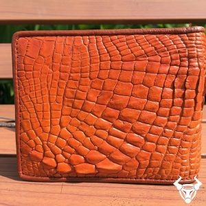 Bóp da cá sấu nam da thật giá rẻ VB0705