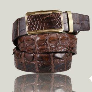 Thắt lưng da cá sấu hà nội giá rẻ TL07