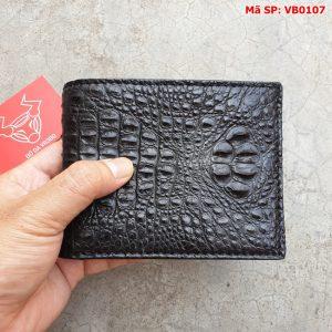 Ví da cá sấu nguyên con giá rẻ VB0107