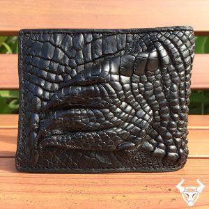Ví bàn tay da cá sấu thật mua ở đâu VB0106
