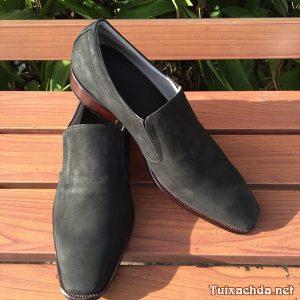 Giày lười nam da bò cao cấp GDB02