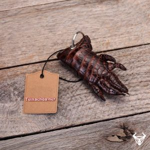 Móc khóa tay cá sấu Hà Nội giá rẻ MK04
