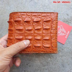 Bóp Da Cá Sấu Nam Nguyên Con Gai Lưng VB6A1