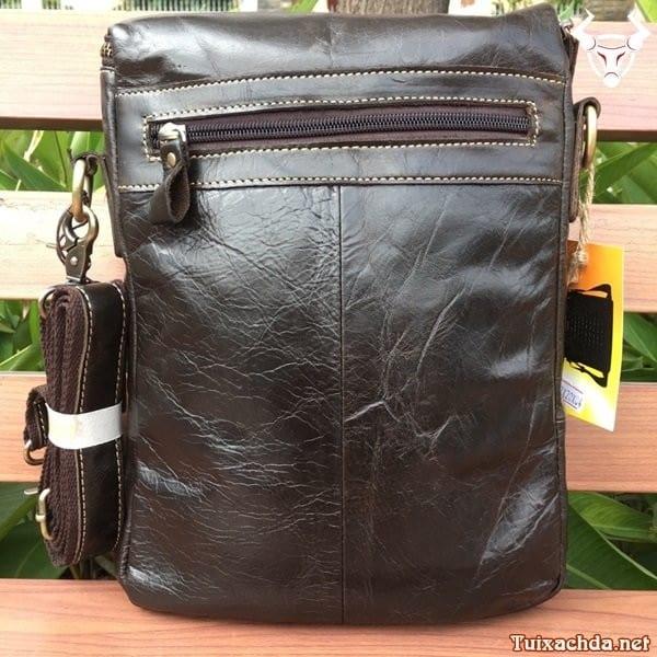 Túi da nam đeo chéo đựng ipad 12 inch 1