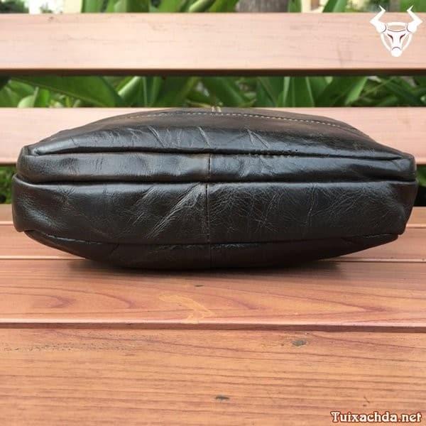 Túi da nam đeo chéo đựng ipad 12 inch 3