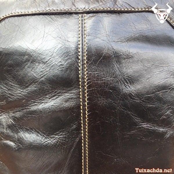 Túi da nam đeo chéo đựng ipad 12 inch 8