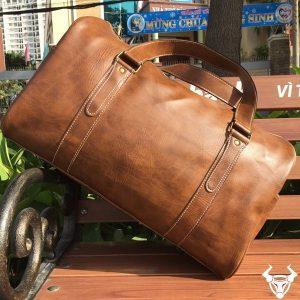Túi Trống Da Bò Nam Thời Trang TT03-VB