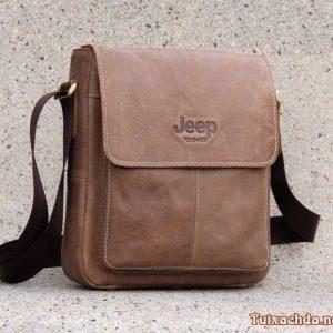 Túi đeo chéo da nam hàng hiệu JEEP J10