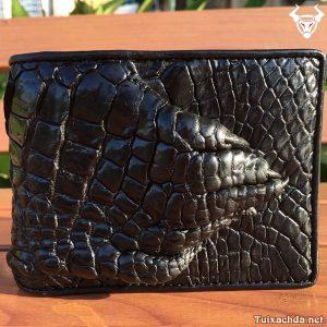Ví da cá sấu nam bàn tay VB0106