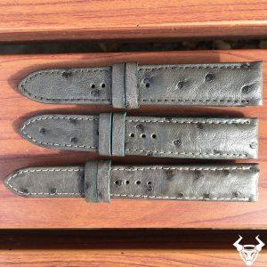 Nơi bán dây đồng hồ da đà điểu giá rẻ DH08 20mm