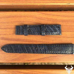 Thay dây đồng hồ da đà điểu tphcm dh17 14mm