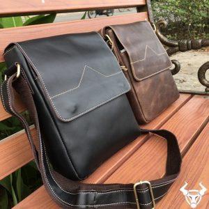 Túi da nam handmade giá rẻ KT07-NĐ
