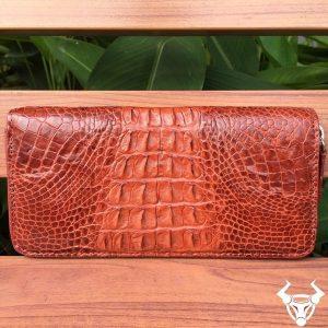 Bóp da cá sấu nữ giá rẻ cầm tay VN19