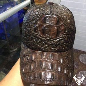 Mũ da cá sấu thật 100% cho nam