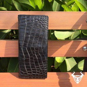Ví cầm tay nữ da cá sấu đựng iphone 7 plus BT0108
