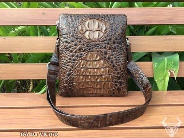 Túi Da Cá Sấu Thật đựng Ipad TCS08-N giá chỉ 7 triệu 880