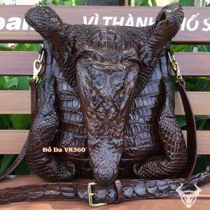 Túi Da Cá Sấu Nam Nguyên Con Loại Lớn NC05