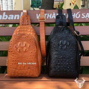 Túi Đeo Ngực Da Cá Sấu TDL-CS01-B Giá Rẻ