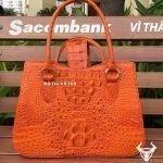 Tuidacasau.vn Tui Xach Nu Da Ca Sau Tx07 Vang Cam 1