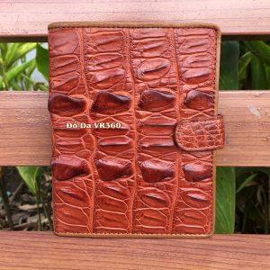 Bóp Đựng Hộ Chiếu Passport Da Cá Sấu PP02