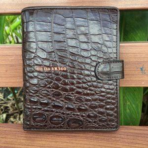 Ví Đựng Passport Da Cá Sấu Thật PP05