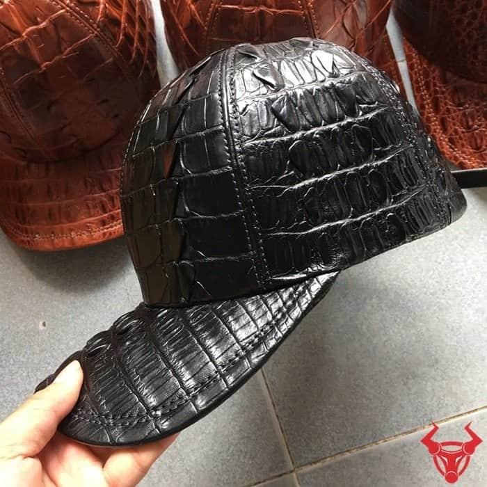 Mũ Da Cá Sấu Thật Gai Đuôi NCS07 giá : 3,000,000₫