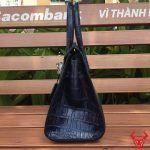 VR360 Tui Xach Da Ca Sau Hermes Xanh Lam Xam Hm Lx 4