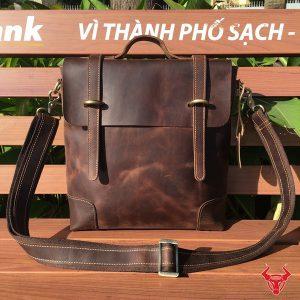 VR360 Tui Xach Da Deo Cheo Nam 12 Inch Txd02