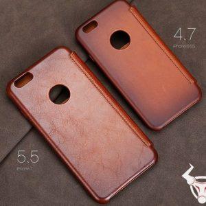 Bao Da Iphone 6 , 6s, 6 Plus, 7 Da Bò Thật  BD05