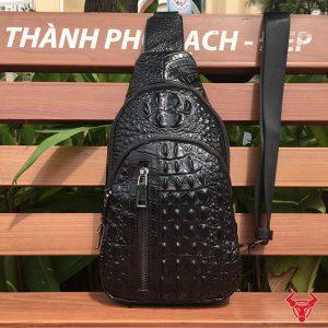 Túi Đeo Lưng Nam Vân Cá Sấu TDL-VCS01