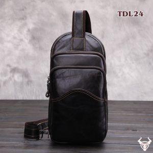 Túi Đeo Trước Bụng Da Bò Thật Cho Nam TDL24