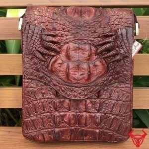 Túi Da Cá Sấu Nam Đựng MacBook TCS12 ND 2
