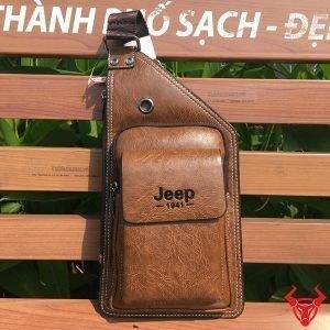 Túi Da Đeo Trước Ngực Nam Jeep Giá Rẻ JR05
