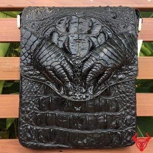 Túi Đựng Macbook Da Cá Sấu TCS12-DE