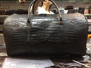 Túi Trống Da Cá Sấu Hàng Hiệu VR360