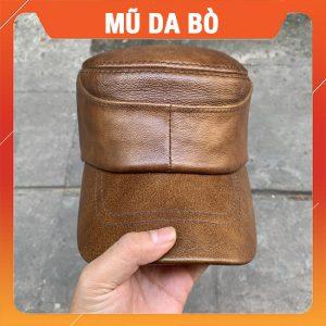 Mũ Lưỡi Trai Da Bò Xịn MDB03