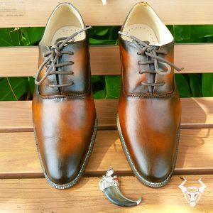 Giày Tây Da Bóng Cao Cấp GT02