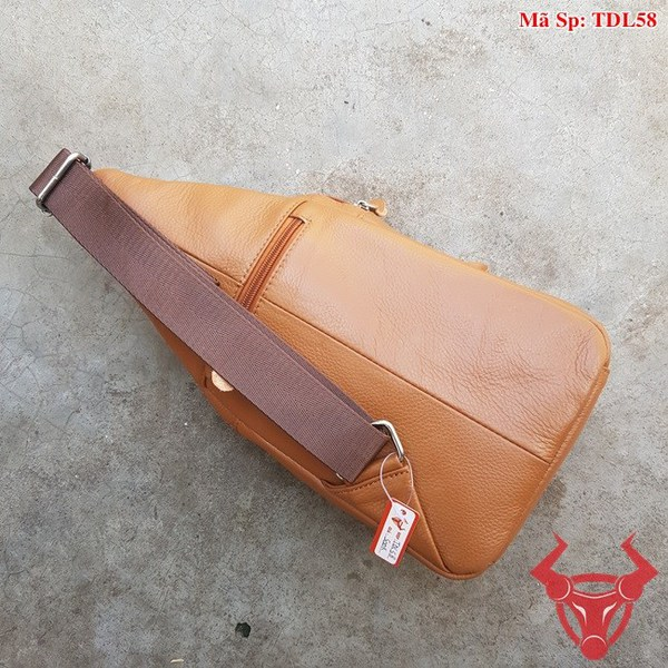 Túi Da Đeo Trước Bụng Nam TDL58