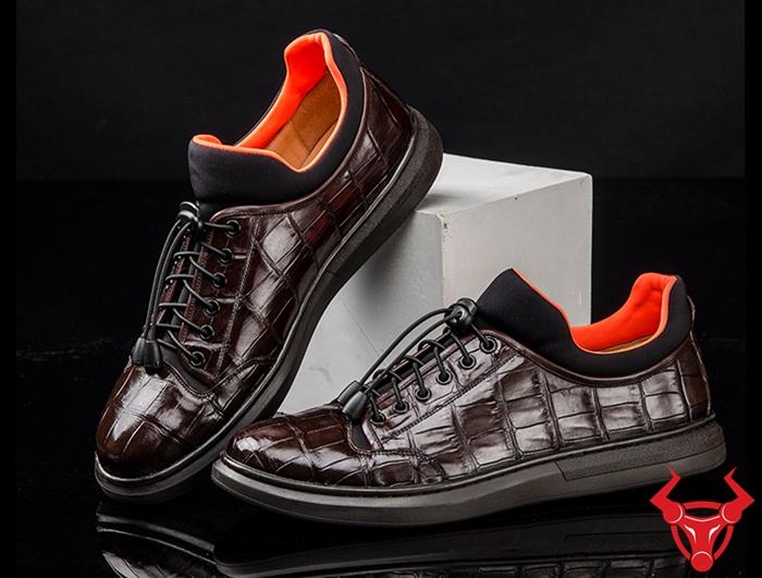 Giày Thể Thao Da Cá Sấu Thật GCS23 giá : 5,990,000₫