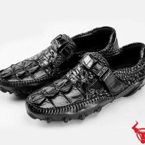 Giày Mọi Da Cá Sấu Mẫu Mới GCS22
