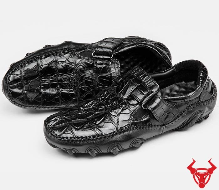 Giày Mọi Da Cá Sấu Mẫu Mới GCS22 giá : 4,500,000₫