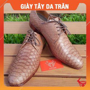 Giày Tây Da Trăn Xuất Khẩu GAA15-