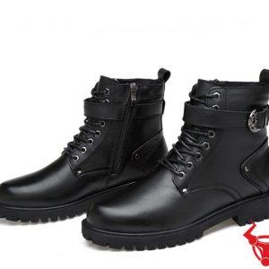 Giày Boot Nam Cổ Cao Da Bò GB02