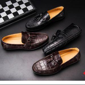 Giày Mọi Da Cá Sấu Cao Cấp GCS24