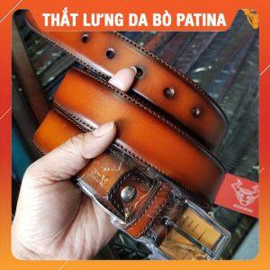 Dây Nịt Nam Tphcm Da Bò Patina