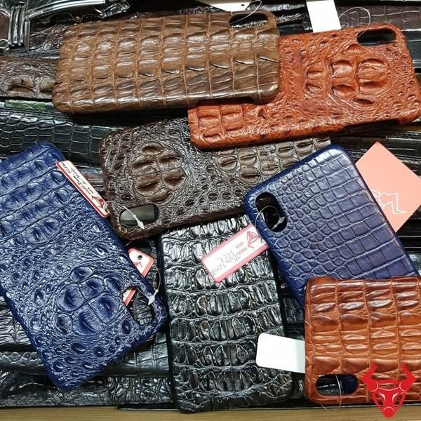 Ốp Lưng Da Cá Sấu Iphone X, XS Max Da Thật 100%