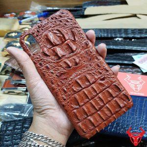 Ốp Lưng Da Cá Sấu Iphone XS Max OA4A1