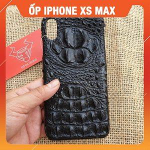 Ốp Lưng Da Cá Sấu Iphone XS Max Gù