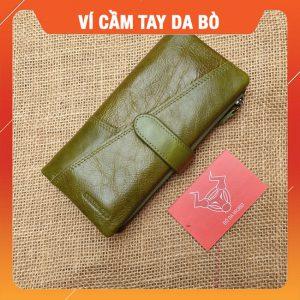 Ví Da Cầm Tay Nam Nữ Hàng Hiệu VICT02
