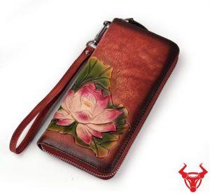 Ví Da Nữ Handmade TPHCM VCT18